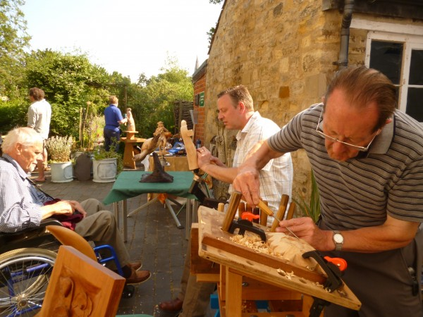 Woodcarving demonstration