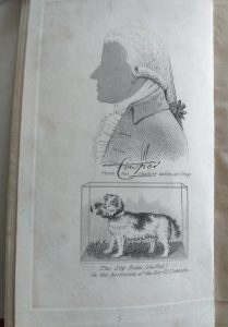 William Cowper, Cowper's spaniel Beau and the three hares