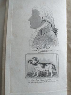 William Cowper, Cowper's spaniel Beau and the three hares