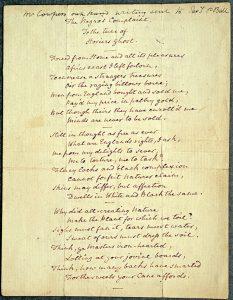 The Negro's Complaint, William Cowper
