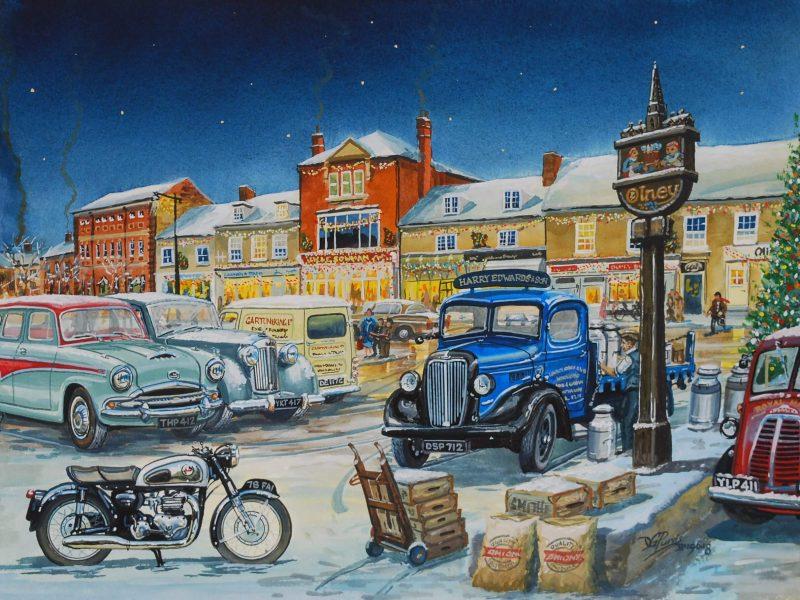 Christmas Olney Market Place