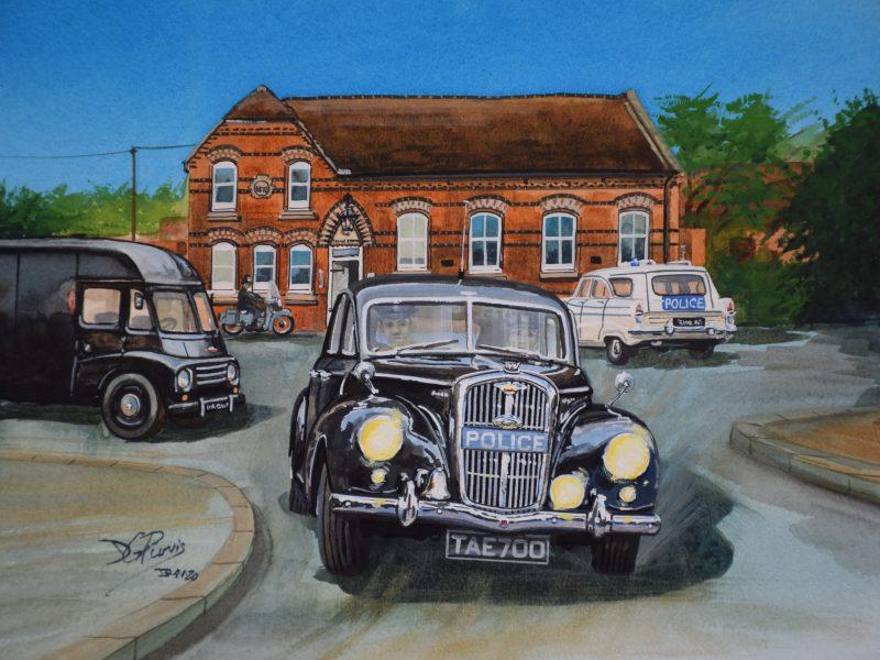 Wolseley 6/80 Newport Poloice Station - David Purvis